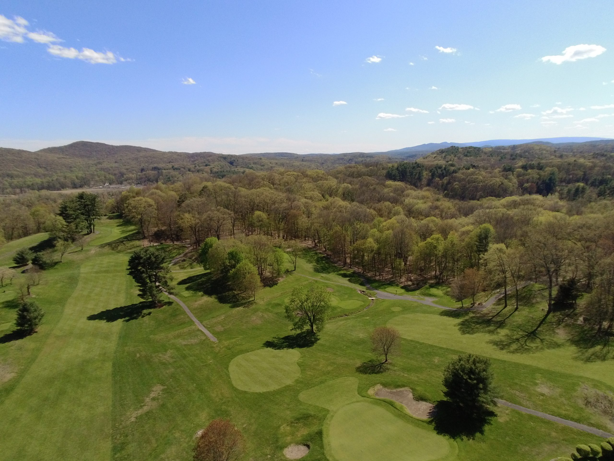 Twaalfskill Course View from Drone 1